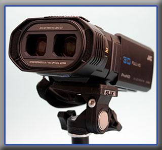 DUAL LENS 3D Camcorder